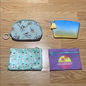 4 New Cosmetic Bags